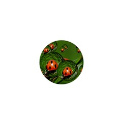 Ladybird 1  Mini Button Magnet