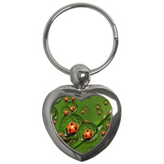 Ladybird Key Chain (Heart)