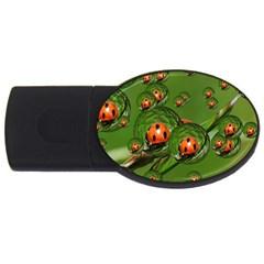 Ladybird 1GB USB Flash Drive (Oval)