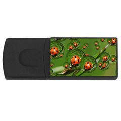 Ladybird 2GB USB Flash Drive (Rectangle)