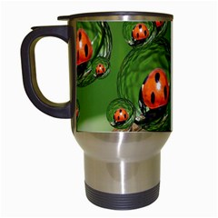 Ladybird Travel Mug (White)