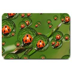 Ladybird Large Door Mat
