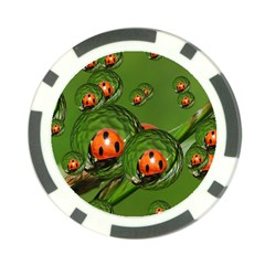 Ladybird Poker Chip
