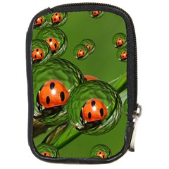 Ladybird Compact Camera Leather Case