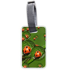 Ladybird Luggage Tag (two Sides)