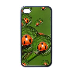 Ladybird Apple iPhone 4 Case (Black)