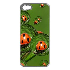 Ladybird Apple iPhone 5 Case (Silver)