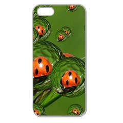 Ladybird Apple Seamless Iphone 5 Case (clear)
