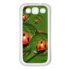 Ladybird Samsung Galaxy S3 Back Case (white)
