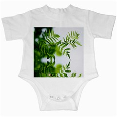 Leafs With Waterreflection Infant Bodysuit