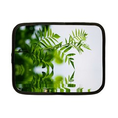 Leafs With Waterreflection Netbook Case (small)