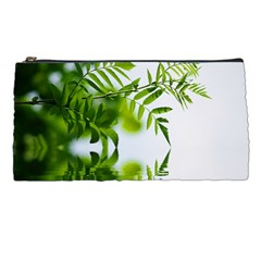 Leafs With Waterreflection Pencil Case