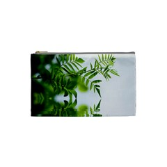 Leafs With Waterreflection Cosmetic Bag (Small)