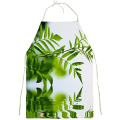 Leafs With Waterreflection Apron