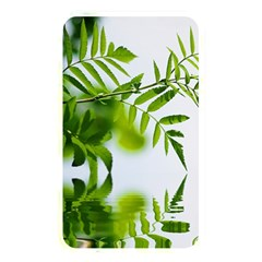 Leafs With Waterreflection Memory Card Reader (Rectangular)
