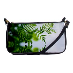 Leafs With Waterreflection Evening Bag