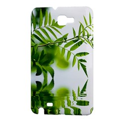 Leafs With Waterreflection Samsung Galaxy Note 1 Hardshell Case