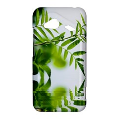 Leafs With Waterreflection HTC Droid Incredible 4G LTE Hardshell Case