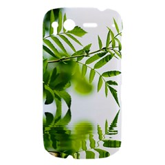 Leafs With Waterreflection HTC Desire S Hardshell Case