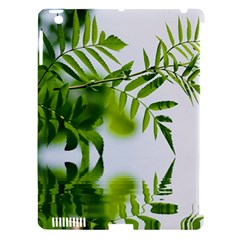 Leafs With Waterreflection Apple iPad 3/4 Hardshell Case (Compatible with Smart Cover)