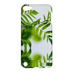 Leafs With Waterreflection Apple iPod Touch 5 Hardshell Case