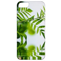 Leafs With Waterreflection Apple iPhone 5 Classic Hardshell Case
