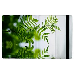 Leafs With Waterreflection Apple iPad 3/4 Flip Case