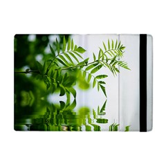 Leafs With Waterreflection Apple iPad Mini Flip Case