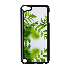 Leafs With Waterreflection Apple iPod Touch 5 Case (Black)