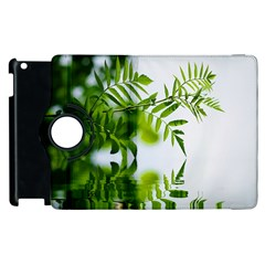 Leafs With Waterreflection Apple iPad 3/4 Flip 360 Case