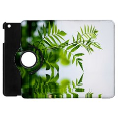 Leafs With Waterreflection Apple iPad Mini Flip 360 Case