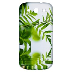Leafs With Waterreflection Samsung Galaxy S3 S III Classic Hardshell Back Case
