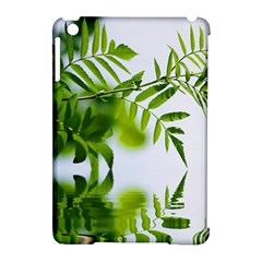 Leafs With Waterreflection Apple iPad Mini Hardshell Case (Compatible with Smart Cover)