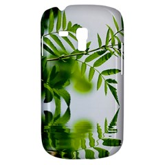 Leafs With Waterreflection Samsung Galaxy S3 MINI I8190 Hardshell Case