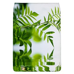 Leafs With Waterreflection Removable Flap Cover (large)