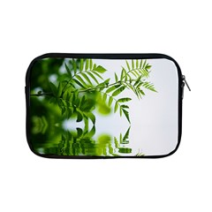 Leafs With Waterreflection Apple iPad Mini Zipper Case