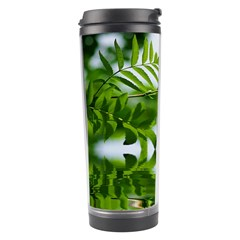 Leafs With Waterreflection Travel Tumbler