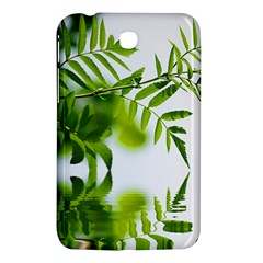 Leafs With Waterreflection Samsung Galaxy Tab 3 (7 ) P3200 Hardshell Case