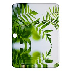 Leafs With Waterreflection Samsung Galaxy Tab 3 (10 1 ) P5200 Hardshell Case