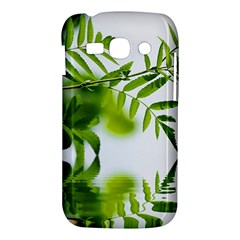 Leafs With Waterreflection Samsung Galaxy Ace 3 S7272 Hardshell Case