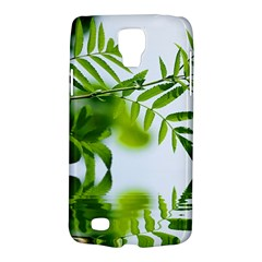 Leafs With Waterreflection Samsung Galaxy S4 Active (I9295) Hardshell Case