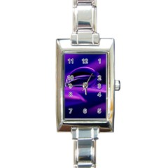 Waterdrop Rectangular Italian Charm Watch