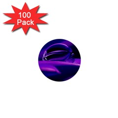 Waterdrop 1  Mini Button (100 pack)