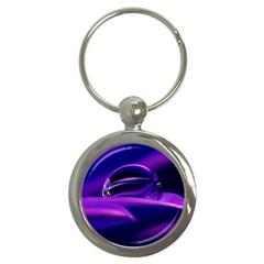 Waterdrop Key Chain (Round)