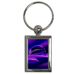 Waterdrop Key Chain (Rectangle)