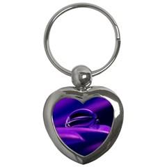 Waterdrop Key Chain (Heart)