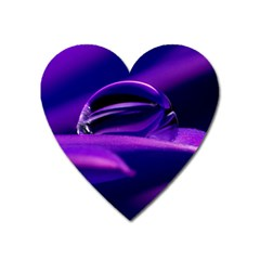 Waterdrop Magnet (heart)