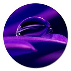 Waterdrop Magnet 5  (Round)
