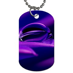 Waterdrop Dog Tag (Two-sided)
