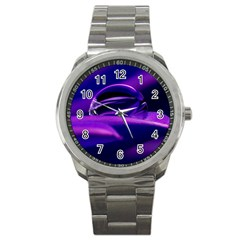 Waterdrop Sport Metal Watch